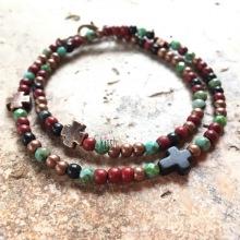 """Bracelet """"Turquoise & howlite"""""""