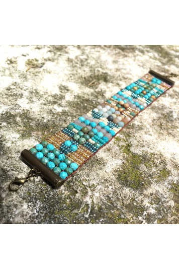 Manchette Turquoise