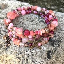 """Bracelet Memoire """"Rose"""""""