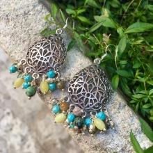 B-O peridot turquoise