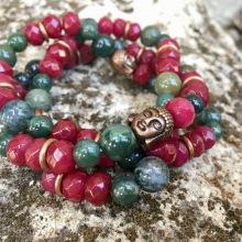 Bracelet Agate/ Jade