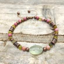 "Bracelet ""Jade Blanc"""