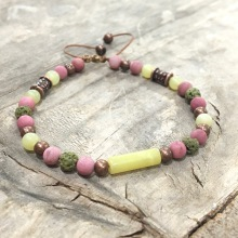 "Bracelet ""Jade Lemon"""